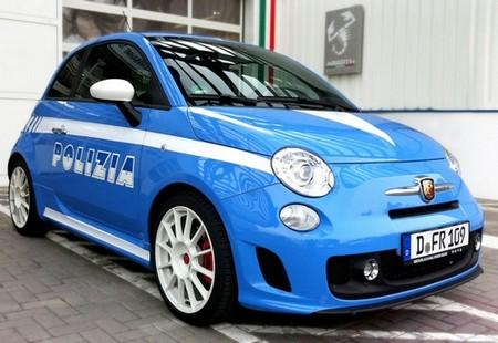 Fiat 500 Police italienne